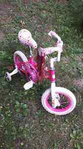 "Toddler Girl's Hello Kitty bike bicycle 12"" tires"