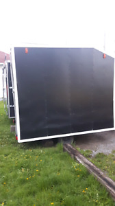 Homemade enclosed trailer
