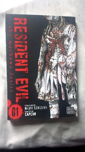Resident Evil Manga Vol 1 Great Condition