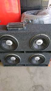 Jbl subs and amp