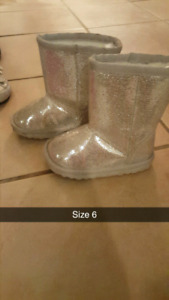 Little girls footwear