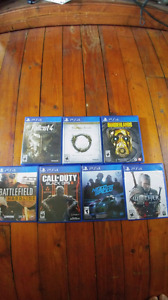 Ps4 games Great Condition