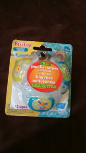 Nuby soothers