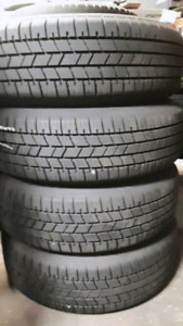 185/65R15 SET 4 BRAND NEW WINTER TIRES ON TOYOTA 5 BOLT RIMS