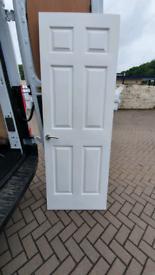 Internal 6 panel white door