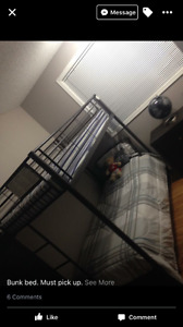 Twin/Twin Bunk Bed For Sale