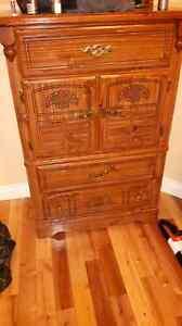 Matching Dresser and Nightstand