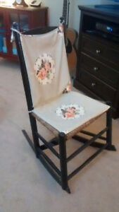 Antique  rocking chair, small