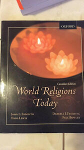 University of Alberta - World Religions Today Textbook
