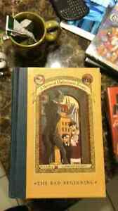 Series of unfortunate events books