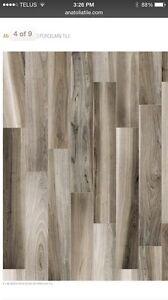 6x24 porcelain wood look tile Rustic texture $2.99 SF