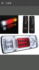 Tail lights truck or trailer