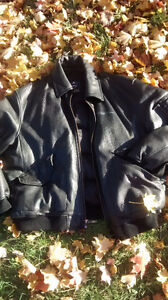 Premium Leather Fatfarm winter coat 4xl