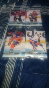 2016-17 Oversize Young Guns hockey cards (x12)