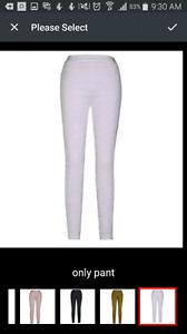 Runway bandage pants 55.00 brand new