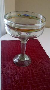 Hand Blown Mexican Glass Candy Dish Kitchener / Waterloo Kitchener Area image 3