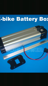 i pay you good money looking for E-bike batteries case