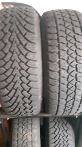 2 sets of 2 winter tires 215 60 15