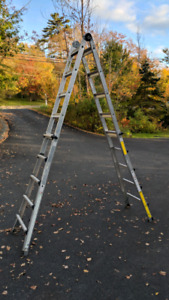 21' Cosco Aluminum ladder
