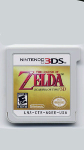 3ds game The Legend of Zelda: Ocarina of time 3d