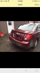 Saturn ion rear fender quater panel red right side passenger