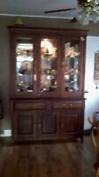 China cabinet/display cabinet et