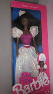 1989 My First AA Barbie Prettiest Princess Ever doll