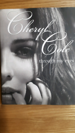 Cheryl Cole book through my eyes