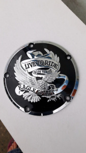 Derby cover for 99 up harley big twin