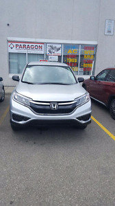 2015 Honda crv.finance av2