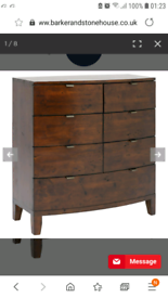 Barker and Stonehouse chest of drawers