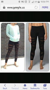 Tech mesh lulu leggings