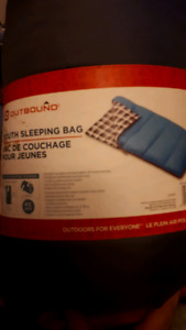 Outbound youth sleeping bag need gone tonight