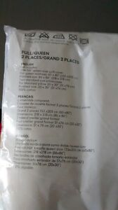 Ikea duvet cover and 2 matching shams