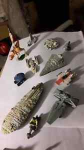 1990's Micro Machines Star Wars Ships and Miniature Figures Plus West Island Greater Montréal image 5