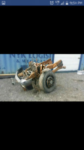 Ford F-350 solid front axle