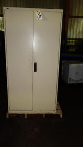 LOT OF 2 OFFICE STEEL CABINETS