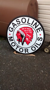 VINTAGE STYLE GAS OIL AND SERVICE SIGNS