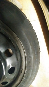 Continental True Contact tires with Steel rims 225/65/17