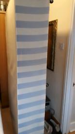 "Single 3ft 6"" large single divan bed,with 2 sliding doors"