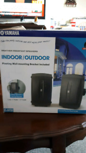 Yamaha indoor / outdoor speakers