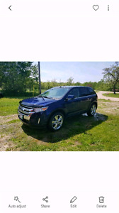 FORD EDGE LIMITED NAV 20s PANORAMIC ROOF HITCH SYNC LEATHER AWD