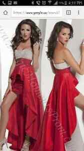 Designer Red Dress brand new