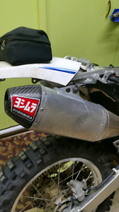 Yoshi RS4 exhaust pipe for DRZ400