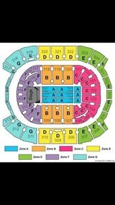 2 tickets for Pearl Jam section 102