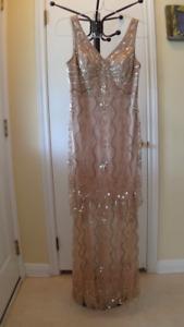 Sue Wong Art Deco Dress