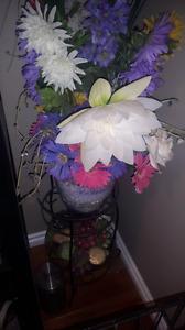 Flower arrangement and stand