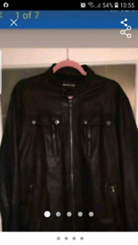 Mens Michael kors jacket size xl