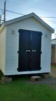Solid  8x10 scratch built baby barn / shed / storage building