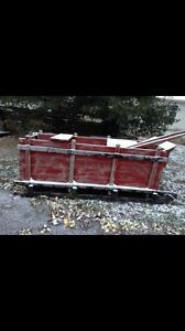 Box sled for sale REDUCED